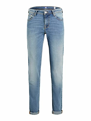 JACK&JONES JUNIOR Jjiglenn Jjoriginal NA 030 JR Jeans, Azul Denim, 146 cm para Niños