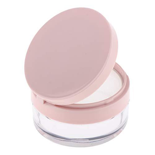 SDENSHI Vide Boîte de Crème Lotion Box Bouteille Pot de Maquillage Mini conteneur de Stockage de Poudre Libre de Fard - Rose s