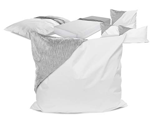 laken24 milbendichte Zwischenbezüge - Evolon für hohen Schlafkomfort 564.704, Kissenbezug 80 x 80 cm