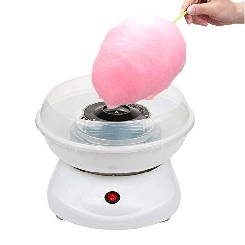 BALLSHOP Zuckerwattemaschine für Zuhause mit Zucker oder Zuckerfreie Süssigkeiten Weiß