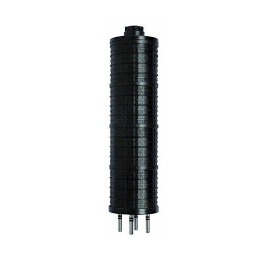 3//4 Hub 100W Power A19 Type Black RAB Lighting VXBR200P-B-3//4 Vaporproof VXBR 4 Wall Bracket with Perma Globe Aluminum