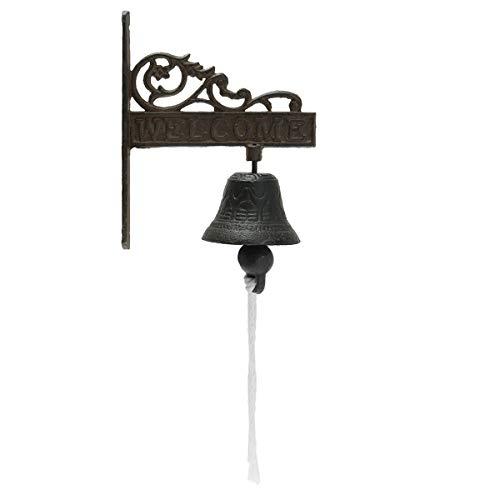 KING DO WAY Timbre de hierro fundido, estilo clásico, retro, vintage, para...