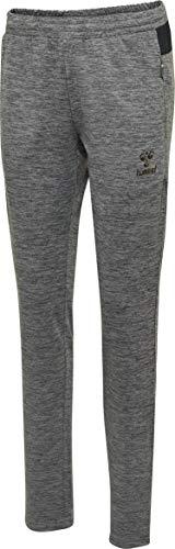 Hummel Damen Trainingshose Jasmin Pants 203026 Dark Grey Melange S
