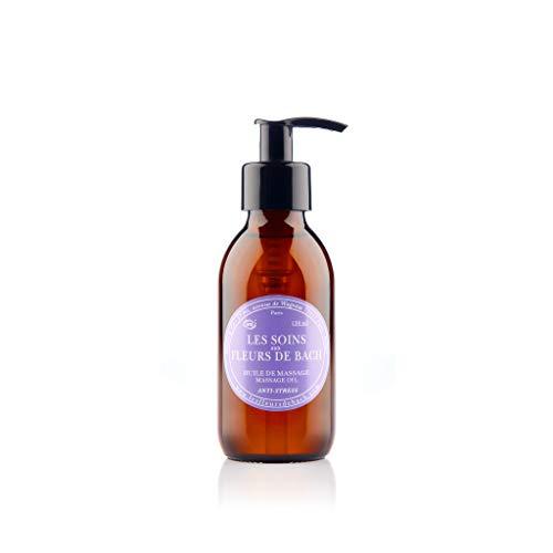 Elixirs & Co - Les Soins aux Fleurs de Bach - Huile de Massage Anti Stress - Détente - Bien-être - Relaxation - Naturel - Bio - Made in France - 200ml