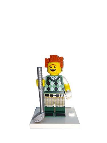 LEGO Movie 2 71023 - Minifigura de presidente de golf, diseño del equipo de golf