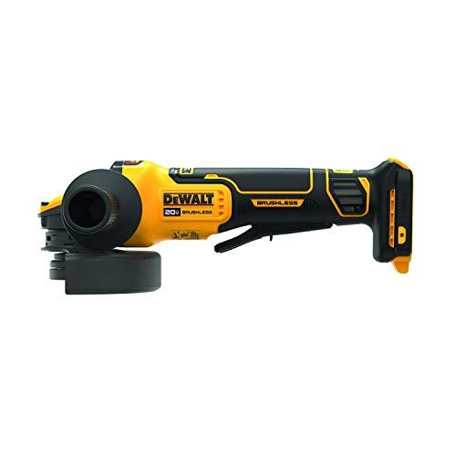 DEWALT FLEXVOLT ADVANTAGE 20V MAX Angle Grinder, Paddle Switch, 4-1/2-Inch to 5-Inch, Tool Only (DCG416B)