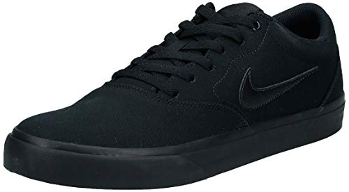 Nike Mens Sb Charge Solarsoft Walking Shoe, Black/Black-Black, 45 EU