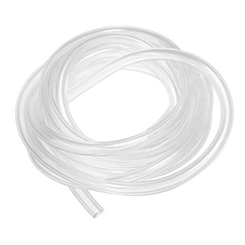 Tubo PVC, BoloShine Tubo de PlásticoTranslúcido de 10 Metros, Manguera Acuario Flexible, Tubo Bomba de Agua para Transferencia de Líquido y Gas, 4 mm (Diámetro Interior) x 6 mm (Diámetro Exterior)