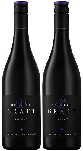 Delaire Graff Shiraz 2018 | Südafrika Rotweinpaket (2 x 0.75l) | Trocken | Weine für jeden Geschmack
