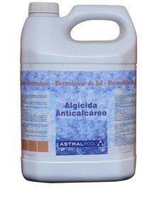 Fluidra 40926 - Algicida y anticalcareo para electrolisis de Sal 5 l
