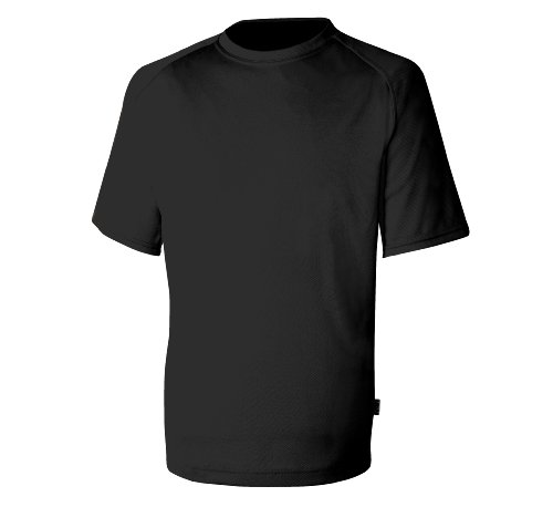Keela ADS 100 T-Shirt Uni Noir Noir Medium