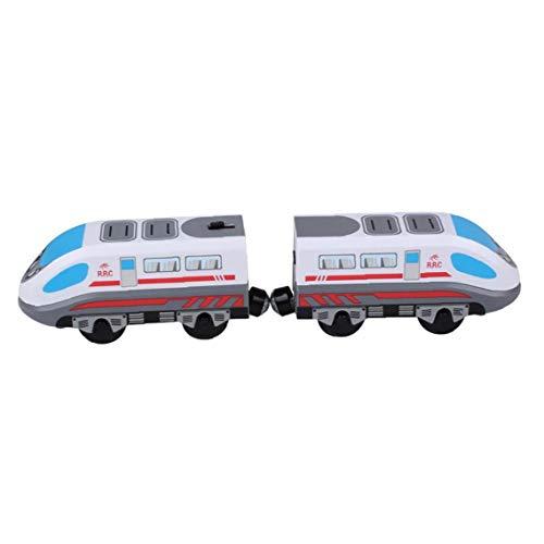 ZYCX123 Tren de Juguete del Carro de Pista magnética Modelo Locomotora eléctrica...