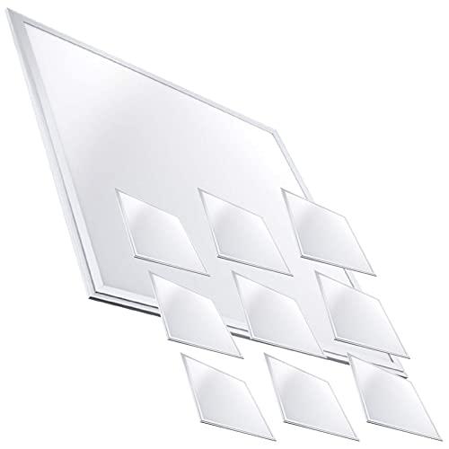 Pack 10x Panneau LED Slim 60x60cm, 40W. Couleur Blanc Neutre (4500K). 3600 lumens. Driver Inclus.
