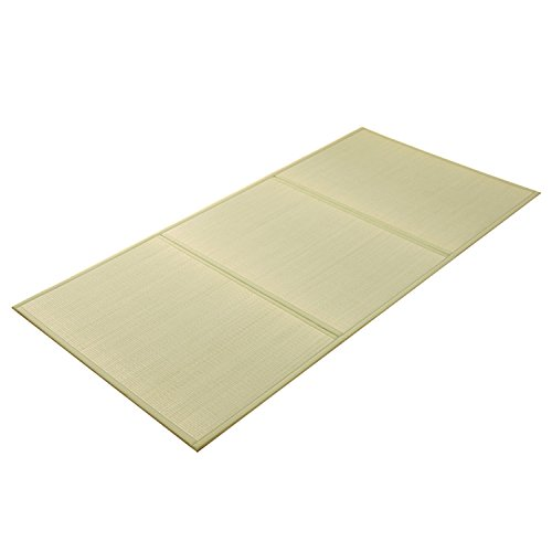 IKEHIKO Japanese Traditional Igusa (Rush grass) Tatami Mattress, 39' x 83' Single Long. Made in Japan