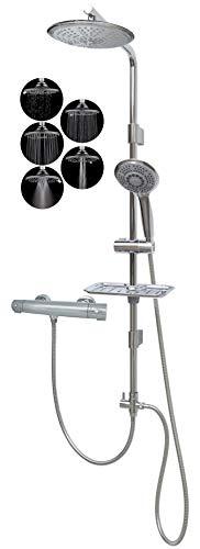 Cortina de ducha kit de ducha con termostato 12003