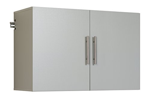 "Prepac GSUW-0708-1 Hang-Ups Upper Storage Cabinet, 36"", Light Gray"