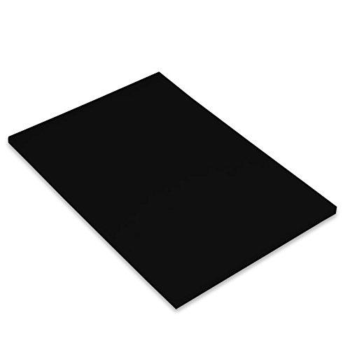 Paquete A4, (50 Hojas) Guarro Cartulina IRIS 240g Negro