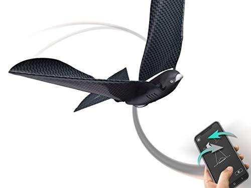 BionicBird METABIRD Hight-TECH BIOMIMETISCHE DROHNE, die mit dem Smartphone gesteuert Wird und im Innen- und Außenbereich fliegt