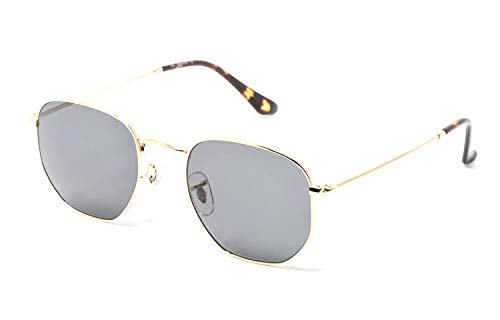 CHANCE - RAIDER gafas de sol unisex - Edición limitada (Dorado, Verde G-15)