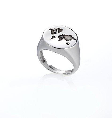 Anillo Chevalier Mondo, anillo de plata 925personalizado oro rosa