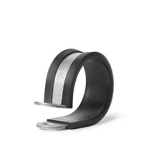 Rohrhalterungsschellen Rohrschelle nach DIN 3016/20 mm Bandbreite für Schrauben M8 (45 mm)