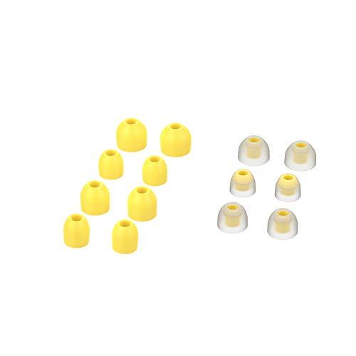 KKmoon 7 pares de pontas de capa de fone de ouvido de silicone macio Capas de fone de ouvido de reposição para Sony WF-1000XM3 Fones de ouvido intra-auriculares Acessórios