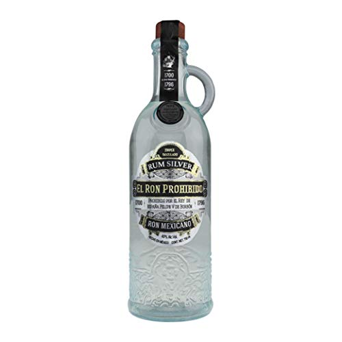 El Ron Prohibido Triple Distilled White Mexicano Rum - 700 ml