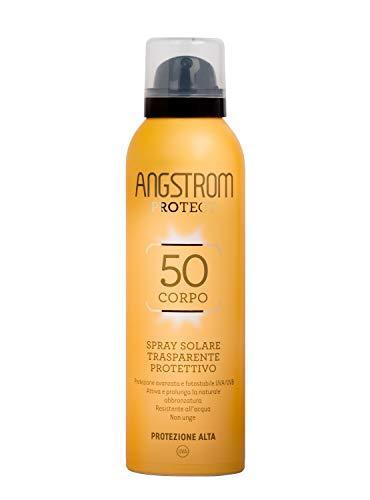 Angstrom Protect Spray Solare Trasparente Protettivo (SPF 50+) - 150 ml.