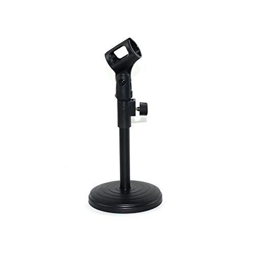 Ramingt-Home Microfoonstandaard voor op het bureau, met microfoon, klein, statief, instelbare houder, tafelstandaard en microfoon