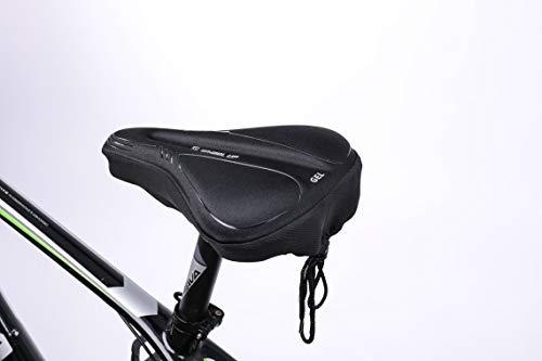 SUPERNIGHT Sillines de bicicleta de carretera, cómodos cojines acolchados de gel con...