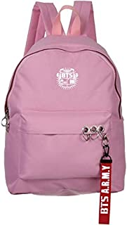 BTS Bangtan School backpack Fits up to 15.6 inch bag for women, girls,boys and men