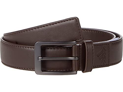 adidas Golf Golf Men's Stretch Belt, Dark Brown, Small/Medium