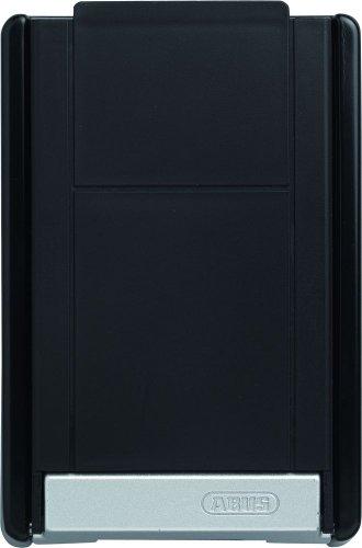 ABUS KeyGarage™ 767 - Schlüsselbox mit Bügel zur Wandmontage - mit Tastencode - für Schlüssel oder kleine Wertgegenstände - Schwarz-Silber