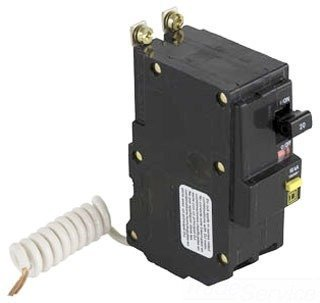 Schneider Electric / Square D QOB230GFI Ground Fault Miniature Circuit Breaker 30 Amp 120/240 Volt AC 2-Pole Bolt-On Mount by SQUARE D