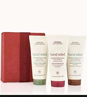 Aveda gift set of travel size moisturizing hand cremes in 3 different aromas - Limited Edition