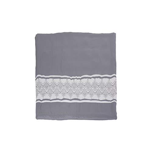 Christopher Knight Home 309146 Viviana Queen Size Fabric Duvet, Gray