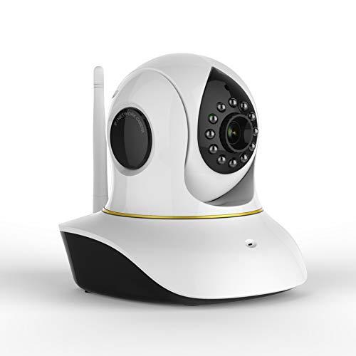 GWX Indoor Dome bewakingscamera, IP-netwerk-bewakingscamera, met 2-weg audio en infrarood nachtzichtfunctie, geschikt voor pet/baby/ouderen.