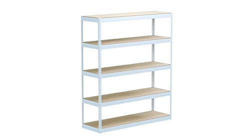 Closet Culture by Knape & Vogt Culture Closet Organization System with 4 Driftwood Wood Shelves, 6 feet