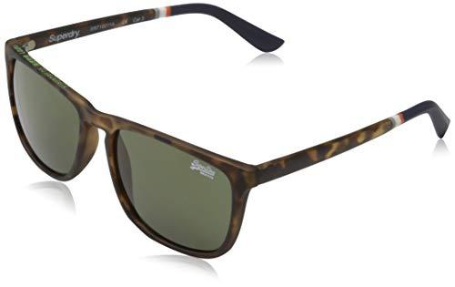 Superdry Alumni gafas de sol, Matte Tort/Vintage Green, Einheitsgröße para Hombre