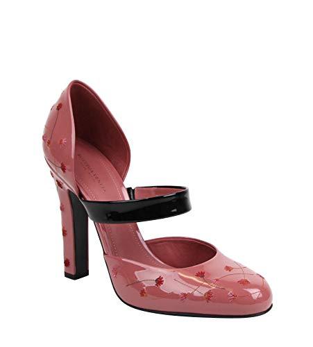 Bottega Veneta Women's Rose Patent Leather Pumps Heels 451813 5771 (40 EU / 10 US)