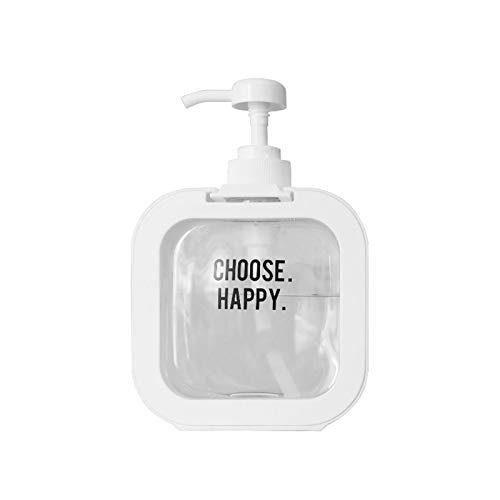 Dosificador Jabón Espuma de jabón Dispensadores de espuma Botellas de espuma 500 ml Vacío líquido Líquido Mano Contenedores de jabón de plástico Botellas de prensa para cocina, baño Botellas dispensad