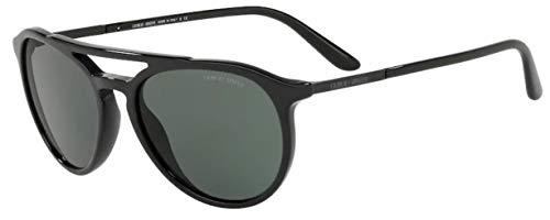 Giorgio Armani Herren 0AR8105 Sonnenbrille, Schwarz (Black), 55