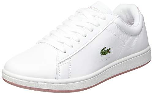 Lacoste Sport Damen Carnaby EVO 0721 2 SFA Sneaker, Wht/Lt Pnk, 37 EU