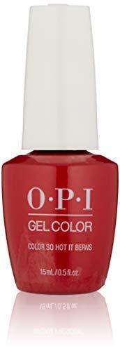 OPI Gel Color Nail Gel - Color so hot it Berns, 1er Pack (1 x 15 ml)