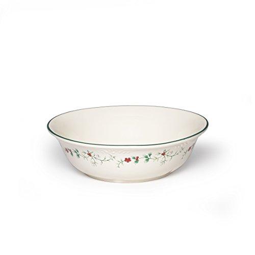 "Pfaltzgraff Winterberry Round Serve Bowl Stoneware Gift Box, 10"", Assorted"