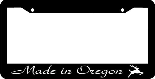 Made In Oregon License Plate Frame Auto Car Novelty Accessories License Plate Art
