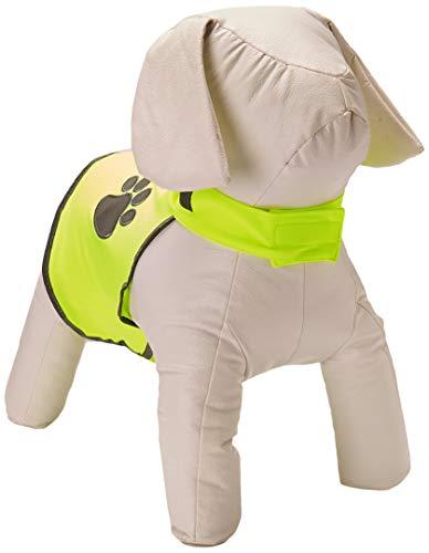 Trixie 30081 Sicherheitsweste für Hunde, Neongelb, S
