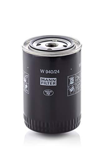 Original MANN-FILTER Filtro de aceite W 940/24 – Filtro hidráulico – Para...