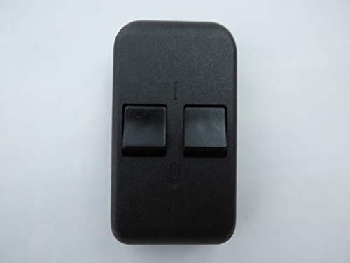 Serien-Schnurschalter schwarz, 1-polig abschaltend bis 2A, für 2-adriges Kabel