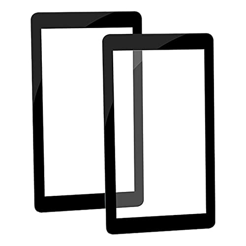 XUNLAN durable 2PCS Glass Protectors Compatible 5.5 Inch Lcd 3D Printer Parts Accessories Fit For Wanhao D7 Anycubic Photon And Many Others Wearable (Color : Black)